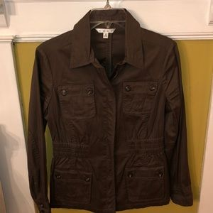 CAbi Army Green Casual Jacket Small